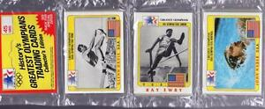 1983-Topps-GREATEST-OLYMPIANS-Cards-Rack-Pack-CRABBE-WILBER-EWRY-NABER-Team-USA