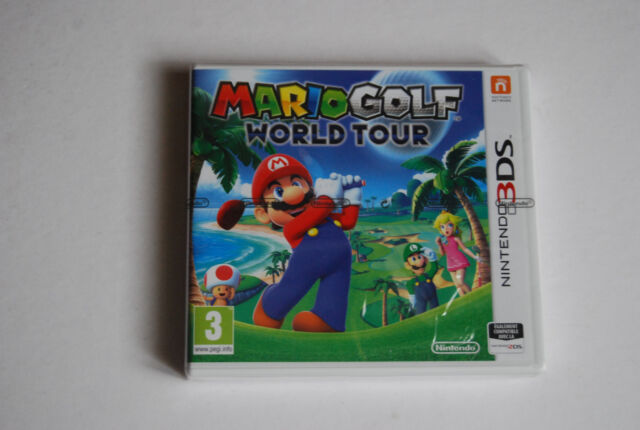 MARIO GOLF WORLD TOUR NINTENDO 3DS