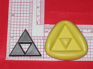 Legend of Zelda Logo Silicone Mold Cake Decoration Chocolate Resin A659 Candy