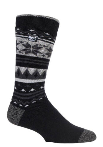 Mens Thin Winter Warm Thermal Crew Colorful Dress Socks Heat Holders Lite