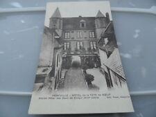 FRANCE   abbeville hotel de la tete de boeuf   Vintage POSTCARD GOOD CONDITION