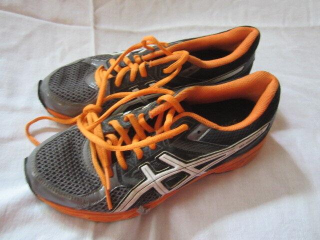 Preowned Men's Size 6 1/2 Black & & Black Orange Asics Gel-Contend 3 Sneakers 0a2f8c