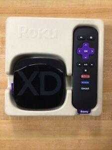 Roku 2 XD Media Streamer 3050R Remote, Power Cord, HDMI
