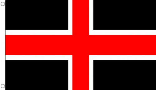 5/' x 3/' City of Durham Flag England Counties English County Banner
