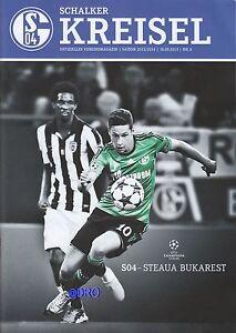 Schalker-Kreisel-18-09-2013-FC-Schalke-04-vs-Steaua-Bukarest-Programm