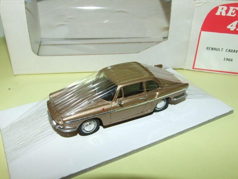 RENAULT voitureAVELLE S 1966 Marron  RETRO 43 1 43  dessins exclusifs
