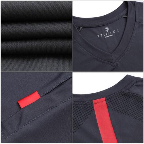 2019 Men/'s Soccer Polyester Referee Uniform Sets Football Referee Jersey Suit