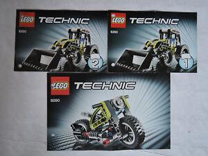 LEGO-Bauanleitung-Instruction-Technic-8260-3-Hefte