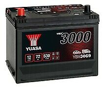 Yuasa YBX3069 Standard Battery