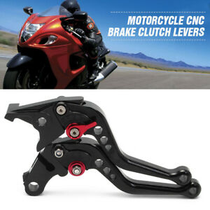 Pair Short Brake Clutch Black Levers for Honda CB599 / CB600 CB919 CBR900RR AU