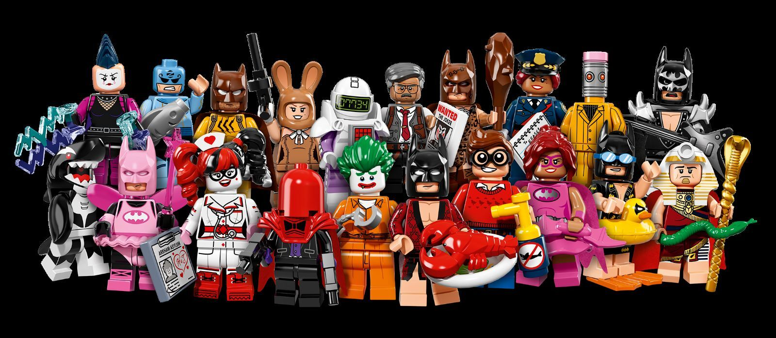 LEGO 6175009 Minifigures The BATMAN Movie 20 Pz. + Collezione Completa