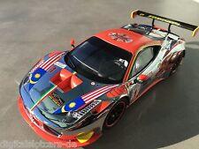 "CARRERA DIGITAL 124 23822 Ferrari 458 GT3 ""Clearwater"" NEU STP FOTOS"