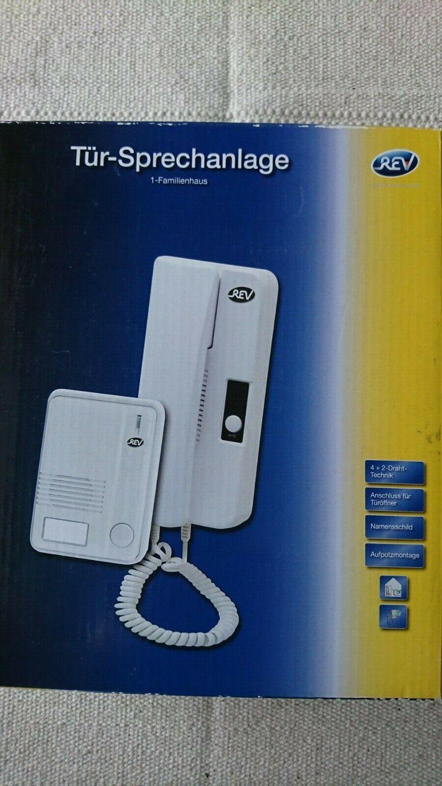 REV Ritter 003003101 1-Fam Sprechanlage Basis