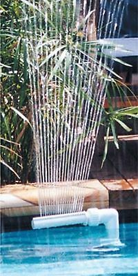 Waterfall Swimming Pool Fountain Sprayer for Above Ground & In Ground Pools
