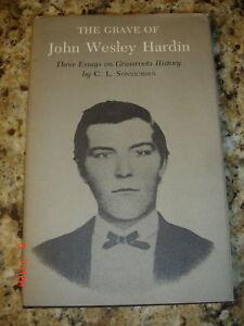1st-GRAVE-JOHN-WESLEY-HARDIN-SONNICHSEN-TEXAS-A-amp-M-HB-DJ
