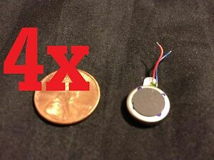 4x-Voltage-3V-Coin-Vibration-Micro-Motor-Flat-Toy-Cell-Phone-12-mm-x-3-4mm-b18
