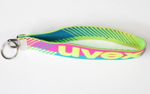 UVEX Schlüsselanhänger Band Schlüssel Schlüsselband Anhänger Neon S-N 5