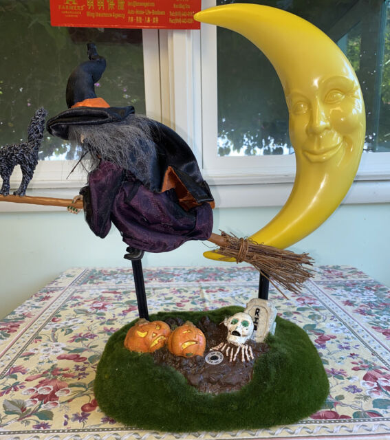 """71"""" Life Size Hanging Animated Talking Witch Halloween"""