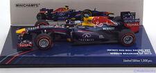 1:43 Minichamps Red Bull  RB9  GP Brazil Vettel  World Champion 2013