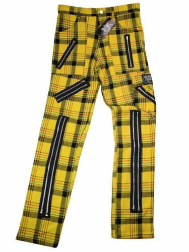 Punk Tiger Jaune Tartan Pantalon Of Tartan London xgYwqUgZ
