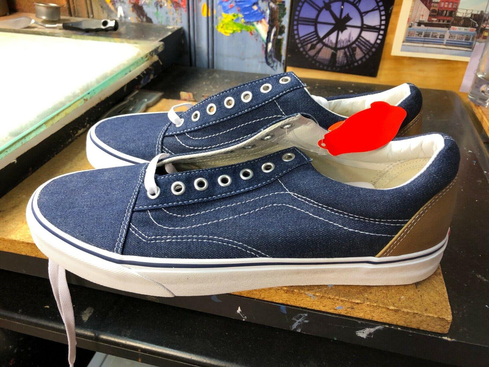 Vestido De Mezclilla C&L Vans Old Skool azuls Ardilla tamaño nos 13 hombres VN0A38G1QQJ Nuevo