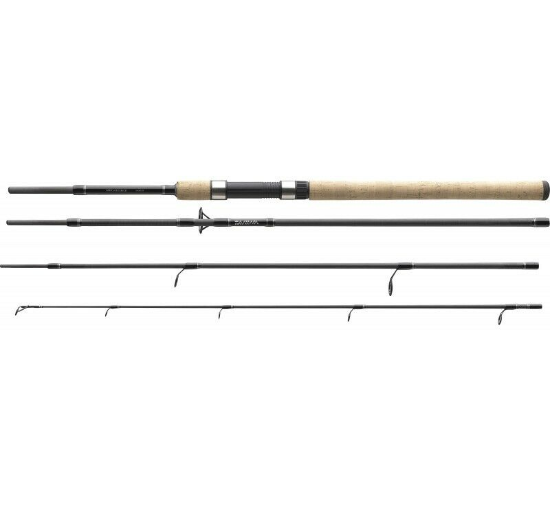 Daiwa Megaforce Travel Spin - Spinnrute - Reiserute - 2,40m 10-40gr.