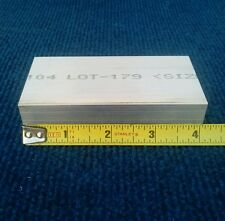 1 X 2 X 4 Long New 6061 T6511 Solid Aluminum Plate Flat Bar Stock Mill Block
