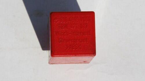 Smart fortwo 450 dispositif de commande essuie-glace relais intervalle relais wiper rouge 0004919v001