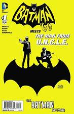 2016 BATMAN '66 MEETS THE MAN FROM UNCLE #1 1:25 VARIANT COVER! 1966 TEAM UP!
