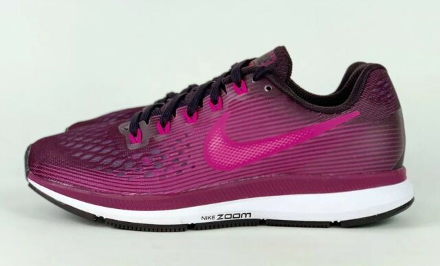 Nike Air Zoom Pegasus 34 Womens 880560 603 Pink Berry Running Shoes Size 8
