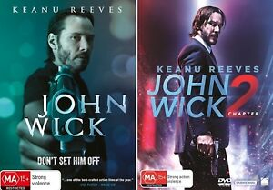 Details about John Wick 1 + 2 : NEW DVD