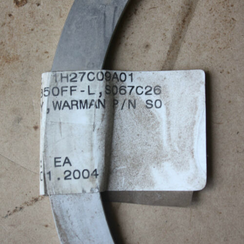 WEIR Warman Neck Ring S067C26 OD 196mm Thickness 15mm 5mm Width