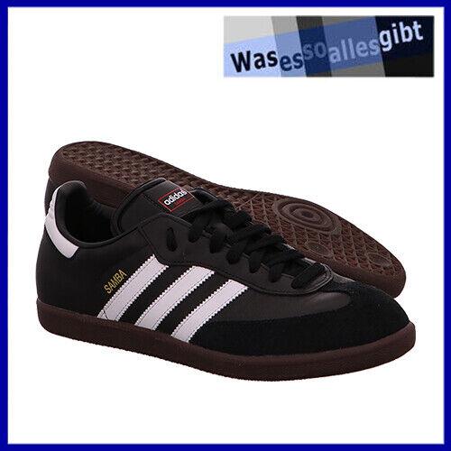 SCHNÄPPCHEN! adidas Samba \ schwarz/weiss \ Gr.: 43 1/3 \ #FU 8399