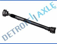 NEW Front Drive Shaft Assembly Jeep 6-Bolt Pancake 4 Bolt U-Joint Yellow Tag 4x4