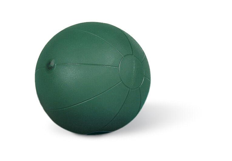 Paffen Sport Fit Medizinball 4kg. Grün. nachpumpbar. abriebfest. springend.