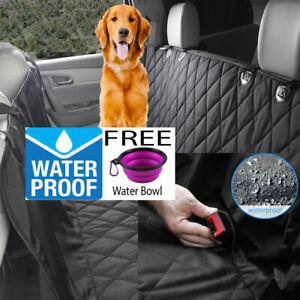 WATERPROOF-Dog-Car-Rear-Seat-Cover-Heavy-Duty-Protector-Mat