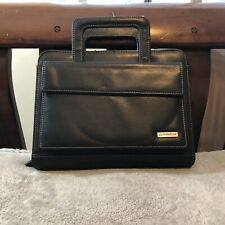 Franklin Covey Masterplan Ring Bound Leather Binder With Handles 8x10