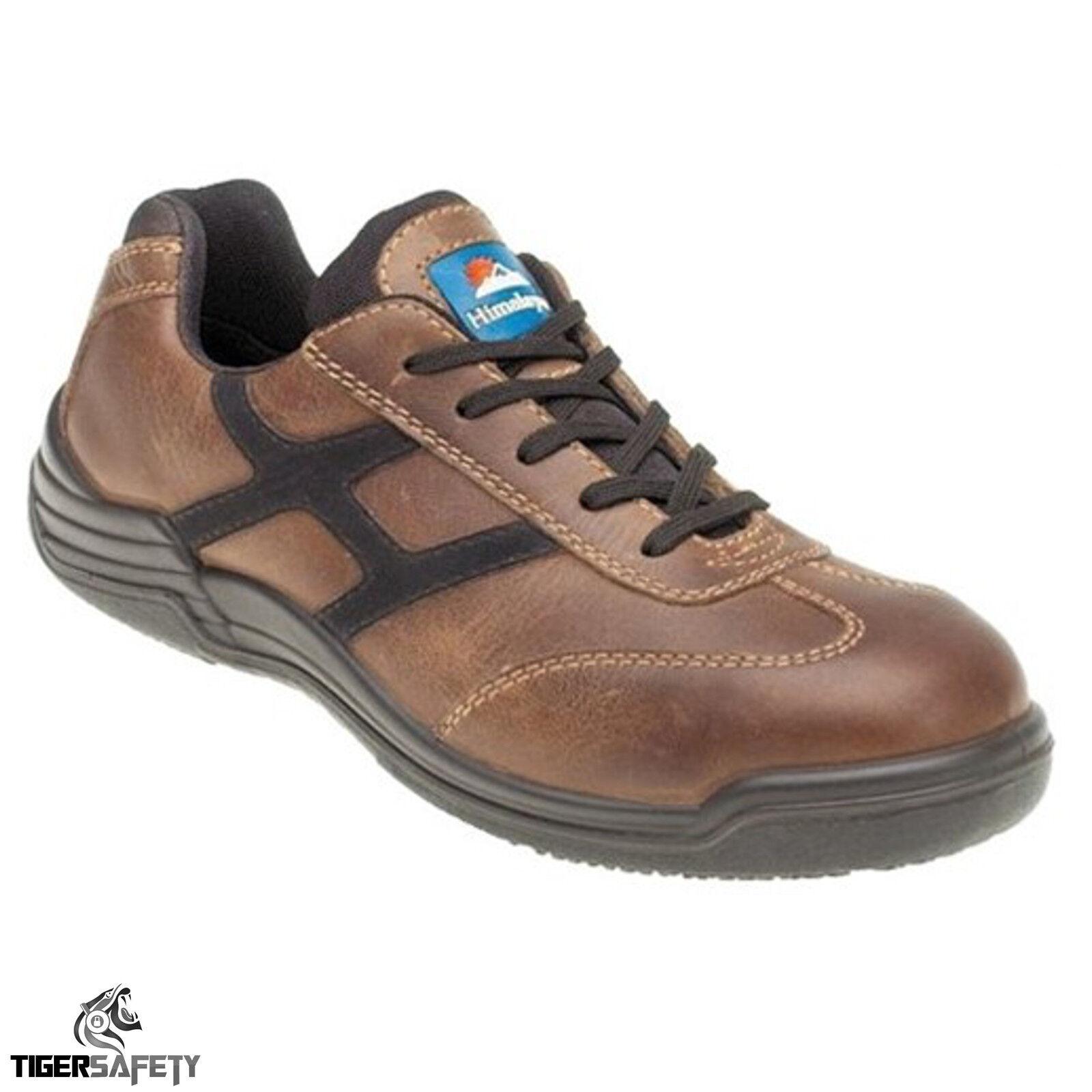 Himalayan 4201 S1P punta SRC pelle marrone con punta S1P COMPOSITA sicurezza scarpe e0943e