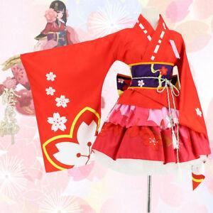 Detalles acerca de Juego Anime Cosplay onmyoji la flor de cerezo demonio  Kimono Personalizado Talla S - 3XL- mostrar título original