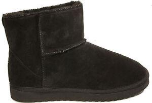 Details zu TAMARIS Schuhe Australien Boots Stiefelette Schwarz echt Leder NEU