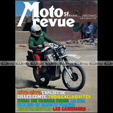 MOTO REVUE N°2301 YAMAHA YZ 125 XT 500 BMW R100 RS MORACO CBR 350 R BIANCHI 1977