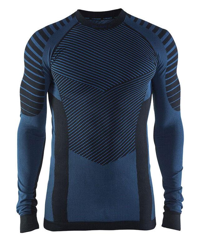 Función  camisa Craft intensity, caballeros, compresión, manga larga, negro azul  Envíos y devoluciones gratis.