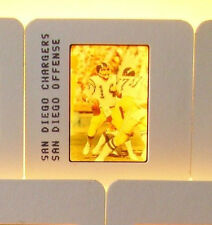 Dan Fouts Offense 1984 Chargers Football 35mm Slide Photo Transparency Negative