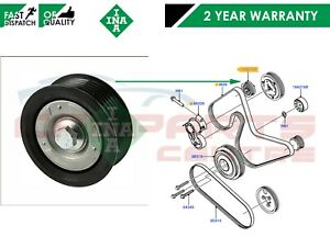 FOR-FORD-MK7-TRANSIT-2-2-2006-2014-FAN-BELT-TENSIONER-GUIDE-PULLEY-INA-GERMANY