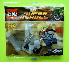 Lego 30163 Thor mit Hammer Super Heroes Marvel Polybag Neu Ovp Figur