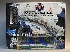 LIONEL DC COMICS BATMAN LIONCHIEF M7 SUBWAY SET o gauge train track RC 6-81475