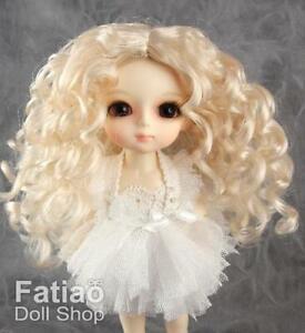 Fatiao-New-Lati-Yellow-pukifee-BJD-Dollfie-Doll-Curly-Wig-5-6-034-Blonde