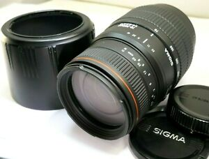 Sigma-70-300mm-f4-5-6-APO-AF-Lens-For-Sony-Telephoto-macro-68-57-37-77