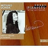 "CD x 2 PHILIPS Great Pianists 20th Century 95: 456 982-2 ""Mitsuko Uchida"" Mozart"
