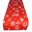30X275CM Red Christmas Tree Xmas Dinner Table Runner Decoration